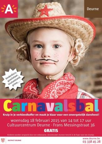 Carnavalsbal voor jonge Deurnenaars
