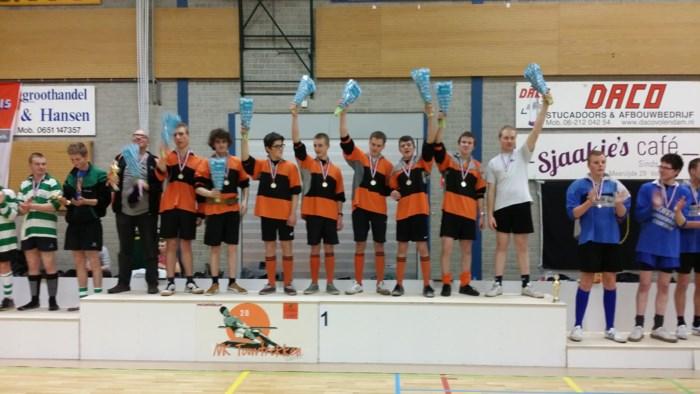 Jeugdploeg De Berketrekkers wint Nederlands Kampioenschap