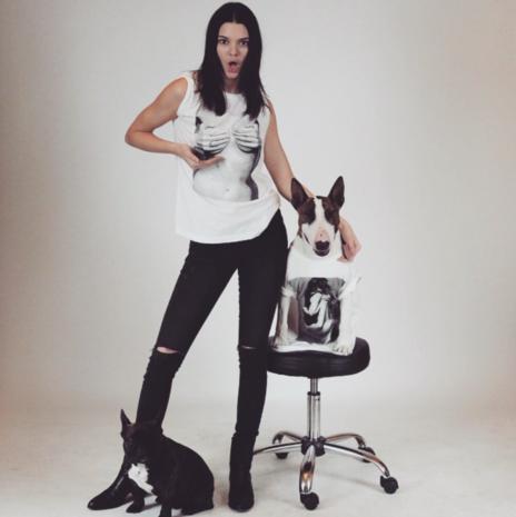 Kardashian-zus staat model voor Designers Against Aids