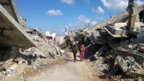 Belgische parlementairen bezoeken zwaar verwoeste Gazastrook