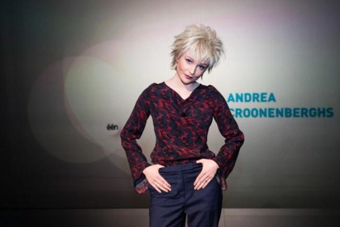 Zo heeft u Andrea Croonenberghs nog nooit gezien