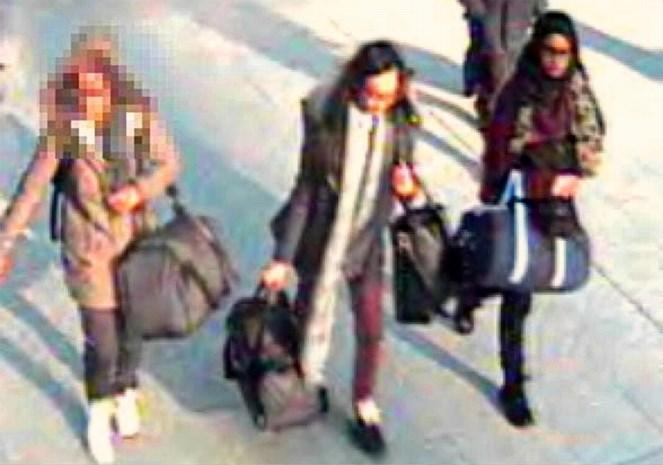 Sluiten drie schoolmeisjes zich aan bij IS?