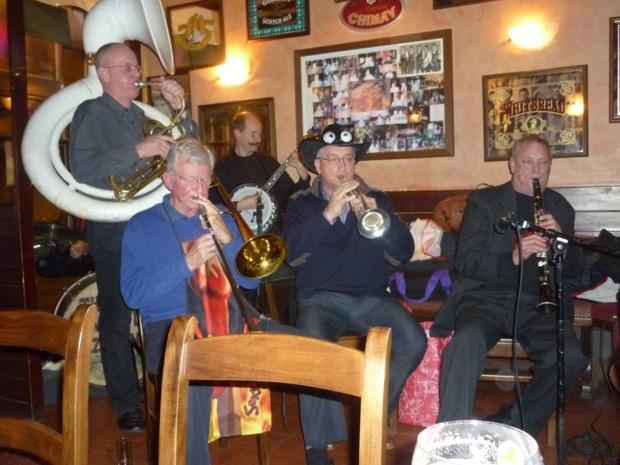 Jazzband zet zich in voor de daklozen