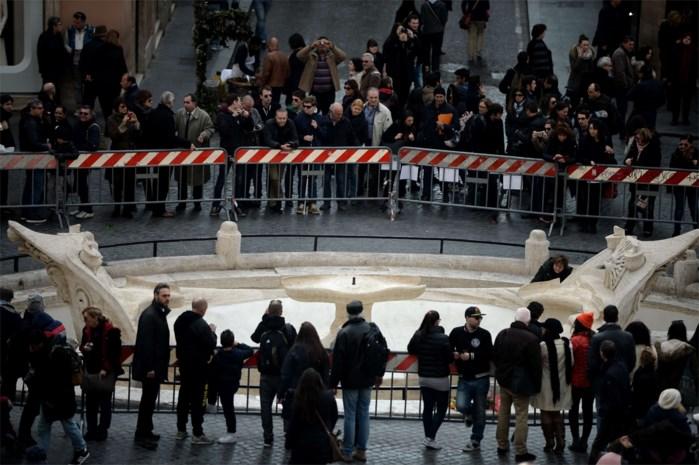 Groot onderzoek naar relschoppers Feyenoord in Rome