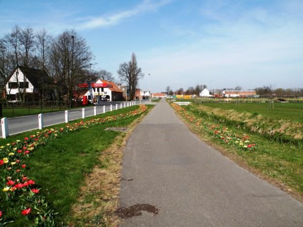 Rioleringswerken Antwerpsebaan in Berendrecht