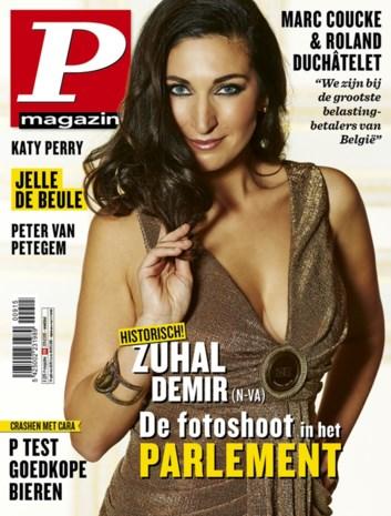 Antwerpse politica Zuhal Demir nieuwe coverbabe P-Magazine