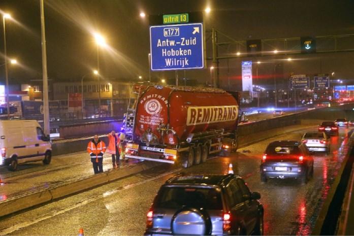 Ongeval met vrachtwagen op A12