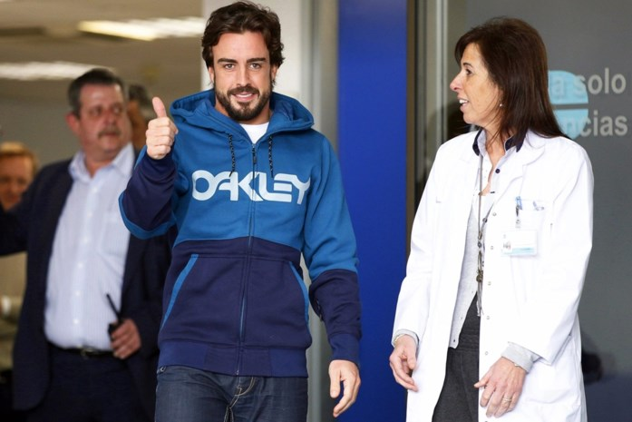 'Alonso fit genoeg voor GP Australië'