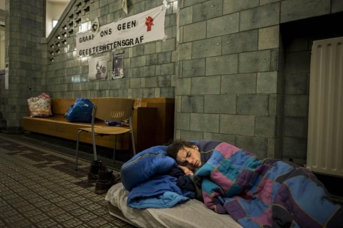 Protesterende studenten bezetten unief Amsterdam