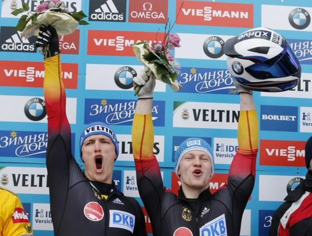 WK bobslee: Duitser Friedrich verlengt titel in tweemansbob