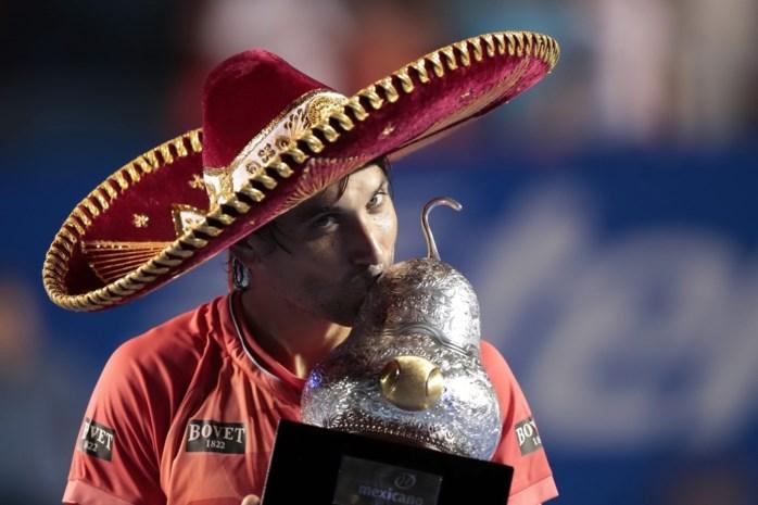 David Ferrer wint vierde titel op Mexicaanse bodem