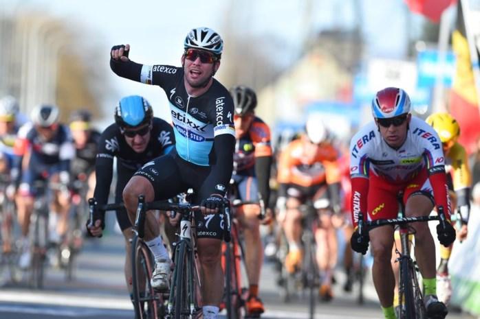 Cavendish sprint naar zege in Kuurne-Brussel-Kuurne