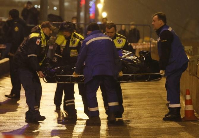 Beloning van voor tips over moord Nemtsov