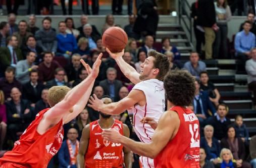 Data halve finale Belgische Beker Port of Antwerp Giants-Oostende