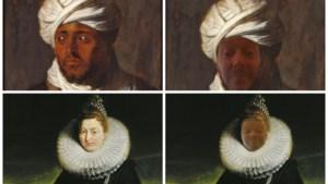 Tover jezelf tevoorschijn in een Rubens-portret