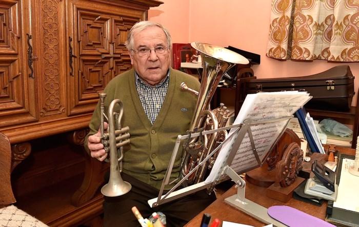 Muzikant stopt ermee na 65 jaar