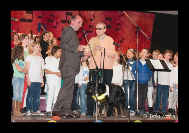 Academie zet zich in voor Belgisch Centrum voor Geleidehonden