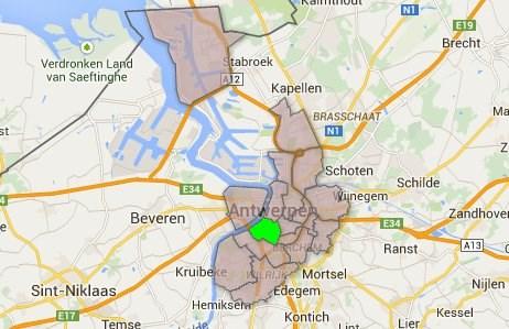Antwerpen-Zuid in cijfers