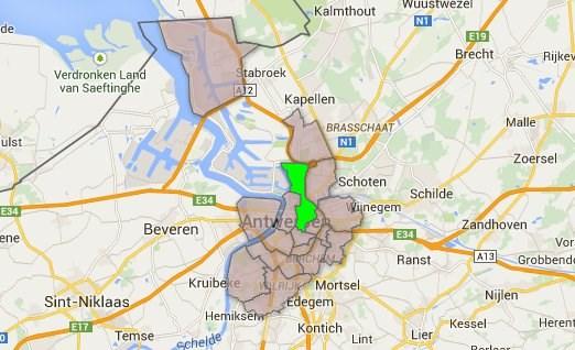 Antwerpen-Noord in cijfers