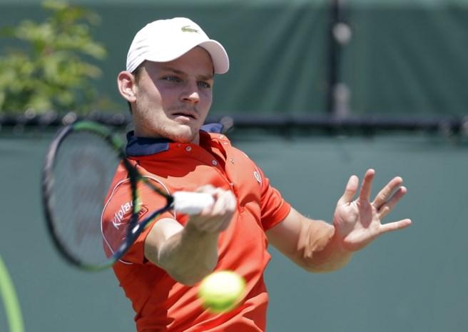 David Goffin vlot naar achtste finales in Miami