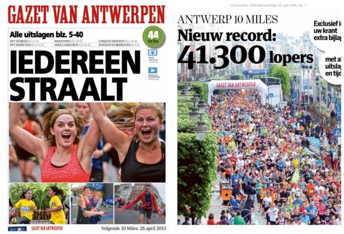 Gazet van Antwerpen brengt alle uitslagen in speciale bijlage