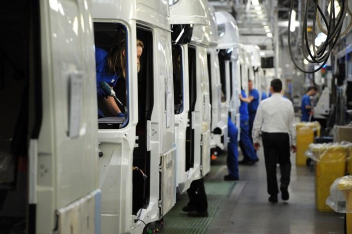 DAF schroeft productie in Eindhoven en Westerlo verder op