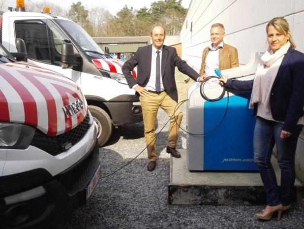 Stad Geel rijdt ook op aardgas