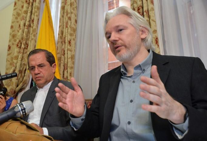 Assange stemt in met ondervraging in Londen