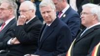 Koning Filip eert eerste slachtoffers van gasaanvallen tijdens WOI