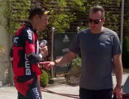 Philippe Gilbert haalt opgelucht adem na training: 'Het komt goed'