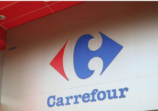 Carrefour hangt foto's dieven aan ingang