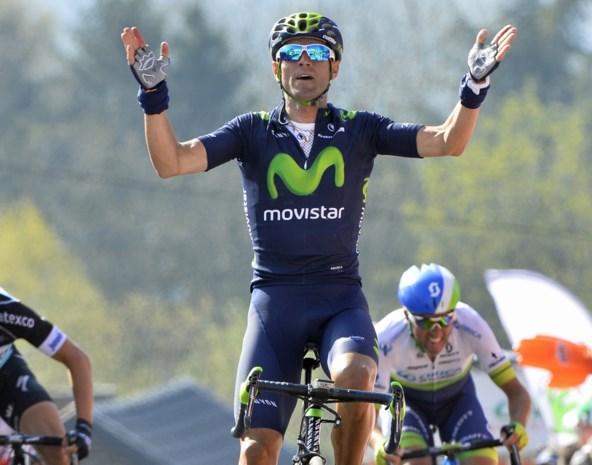 Slaat Valverde zondag de dubbelslag in Luik?