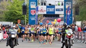 IN BEELD. Marathon van Antwerpen