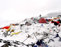 Video toont lawine op Everest
