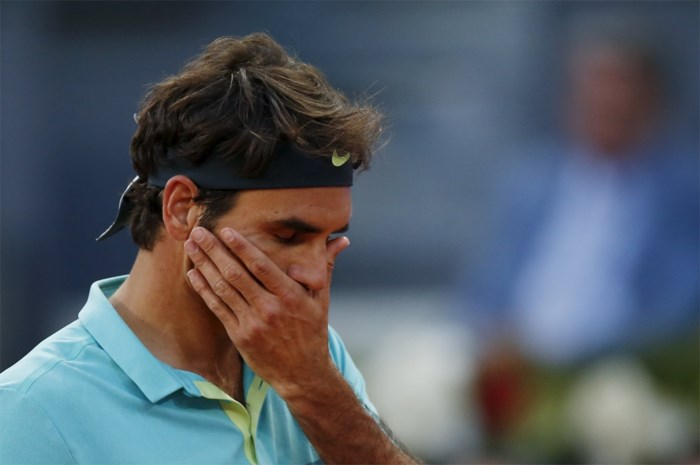 Roger Federer vroeg uitgeschakeld in Madrid