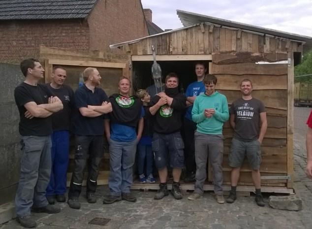 Uniek in Vlaanderen: klein dorp heeft acht kermissen