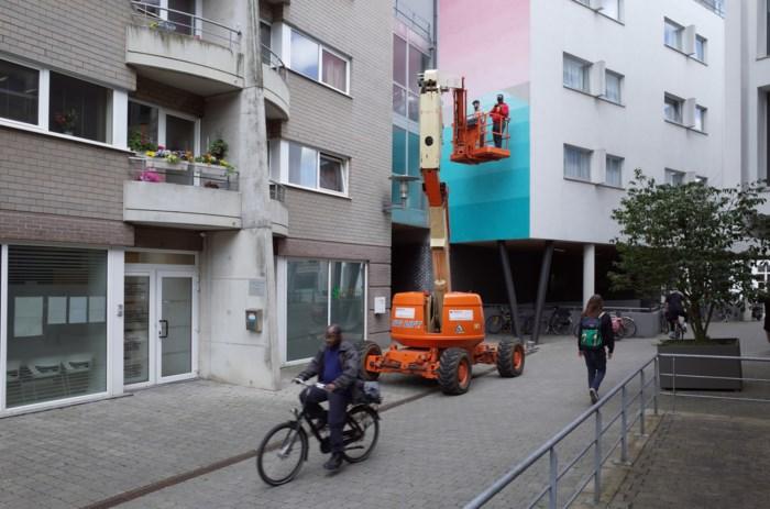 Mechelen Muurt kleurt nu ook Varkensstraat