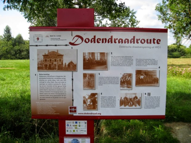 Zoektocht langs Dodendraadroute