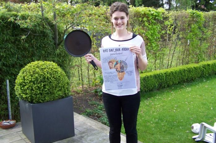 Kato bakt pannenkoeken voor Afrika