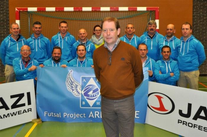 2,2 miljoen euro voor nieuw mekka zaalvoetbal