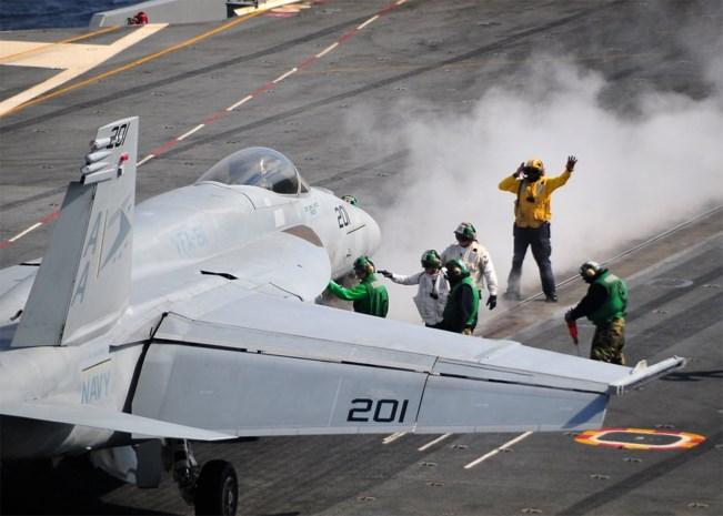 Amerikaanse jachtbommenwerper crasht in Perzische Golf
