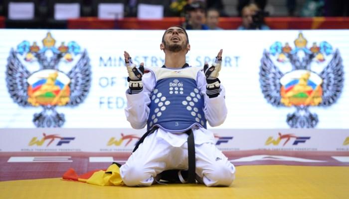 Taekwondoka Jaouad Achab: 'Na wereldtitel geen extra druk voor Rio'