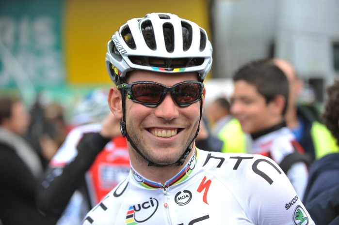Mark Cavendish verkent WK-parcours: 'He likes it'