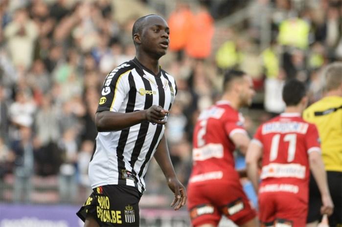 Charleroi stoomt Kebano klaar voor Club Brugge