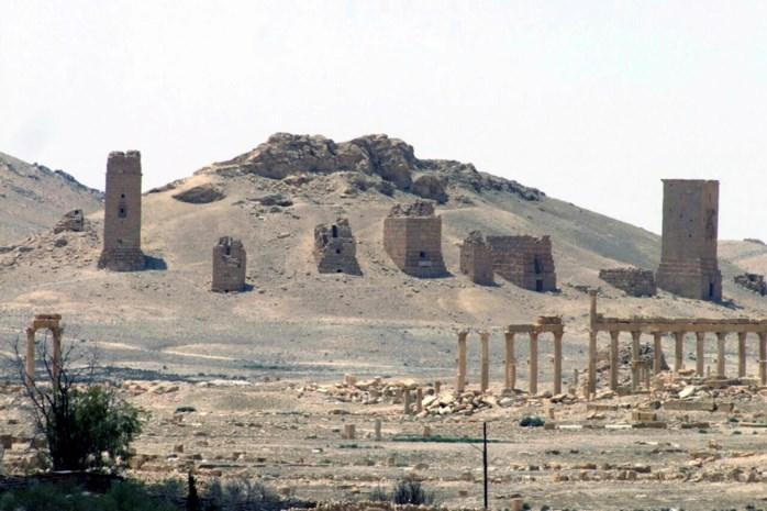 'ISIS controleert Palmyra bijna volledig'
