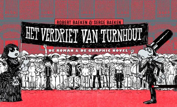 Serge Baeken presenteert langste strip ter wereld