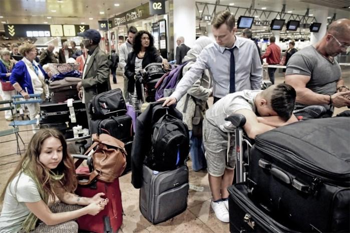 Ook komende dagen vertragingen te verwachten op luchthaven