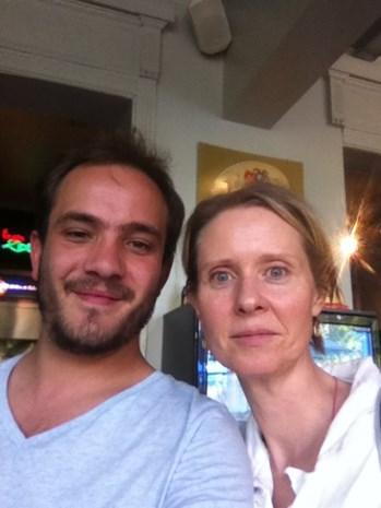 'Sex and the City'-actrice geniet van Antwerpen