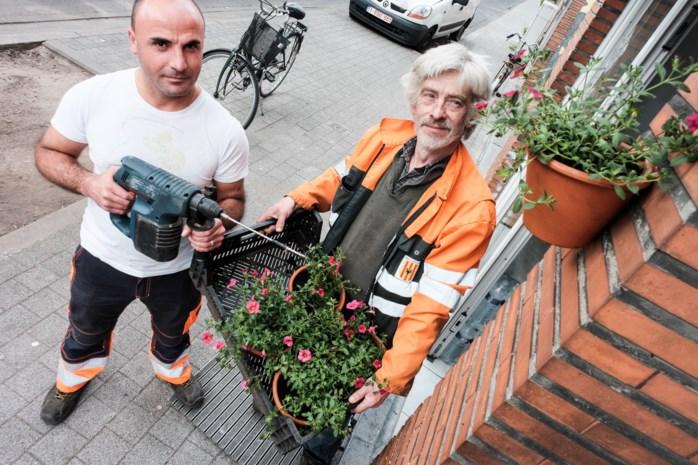 Honderdtal hangtuintjes fleuren woonbuurt op
