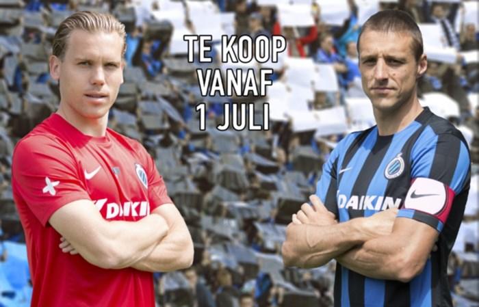 Club Brugge stelt nieuwe hoofdsponsor en shirts voor